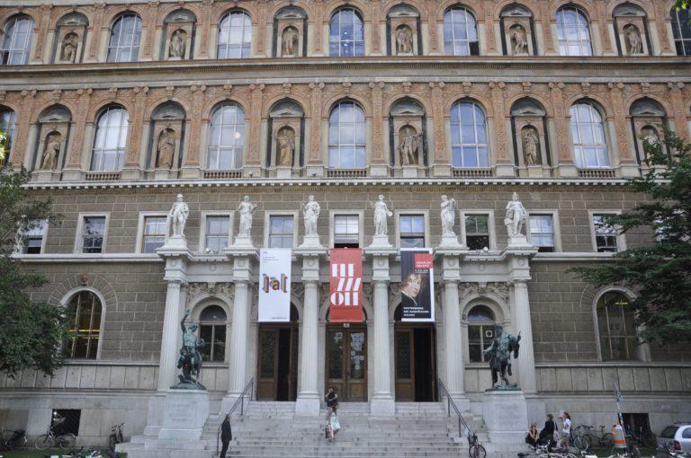 Portal Akademie der bildenden Künste Wien, Foto: Adrian Brodressa © Akademie der bildenden Künste Wien
