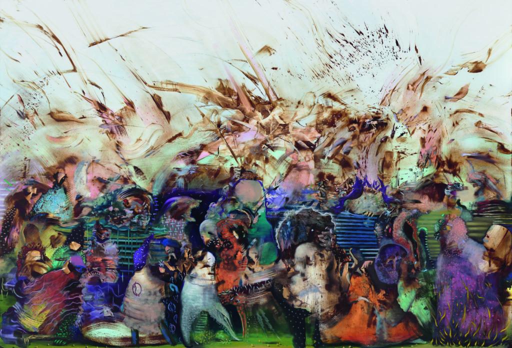 Akademie Gemäldegalerie Ali Banisadr: We Work in Shadows