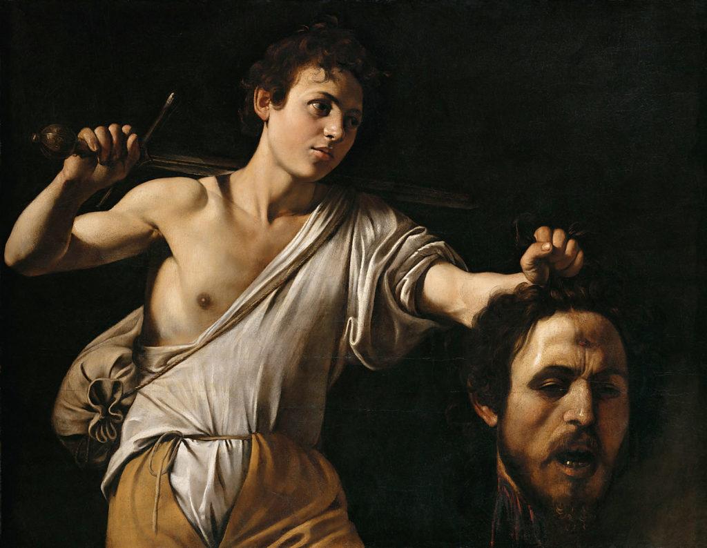 Michelangelo Merisi, gen. Caravaggio, David mit dem Haupt des Goliath, um 1600/01 © KHM-Museumsverband