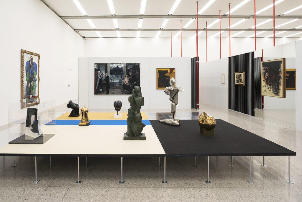 Ausstellungsansicht / Exhibition view Im Raum die Zeit lesen. Moderne im mumok 1910 bis 1955 / Reading Time in Space. Modernism at mumok from 1910 to 1955 Photo: Lisa Rastl © mumok