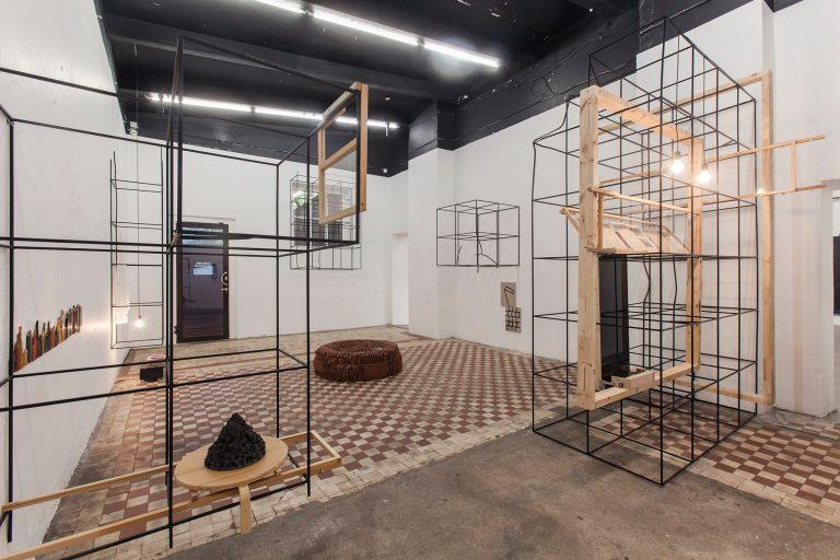 Measures of Emptiness, 2018, Stahl (Kooperation mit Dre Britton (USA) und Ingrid Allik(EE))