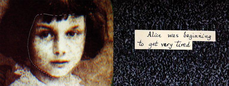 "Karin Fisslthaler (2017), ""Alice Remixed"", Screenshot, Found Footage Film, 10:40 Min. (© Karin Fisslthaler/Bildrecht Wien, 2020)"
