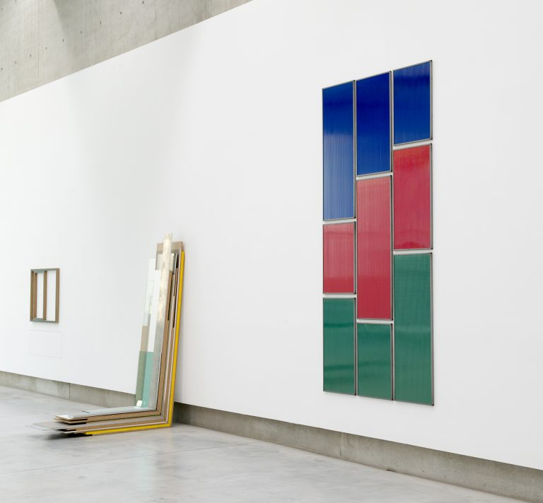 Who's Afraid of Blue, Red and Green? (Statistics), 1997 Ausstellungsansicht: