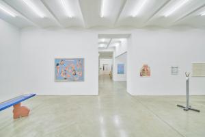 Ausstellungsansicht DAS PARADIES IM STILLEN OZEAN, Christine König Galerie, Wien 2021, © Foto: Philipp Friedrich