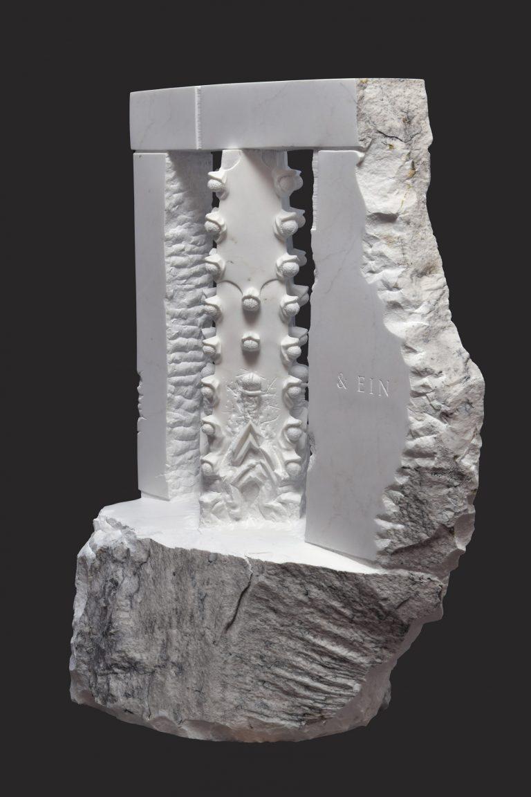 Markus Redl, Stein 158 [Mediazän I–III], 2021