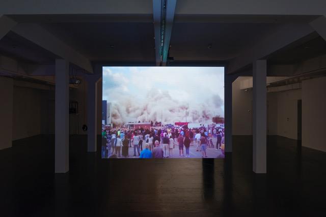 Ausstellungsansicht W O W (Kodak) Was vom Kino übrig blieb, Ausstellungsansicht Künstlerhaus, Halle für Kunst & Medien, Graz, 2018